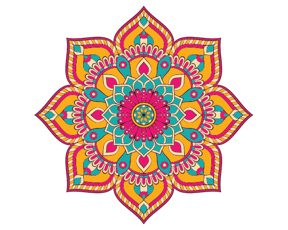 therapeutic art activities mandala
