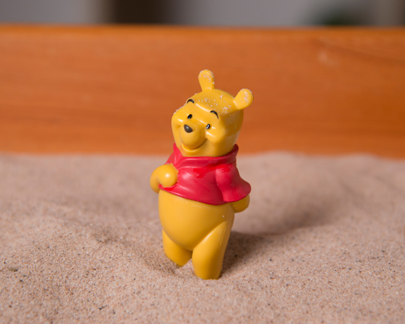 sandplay therapy training winnie the pooh figure