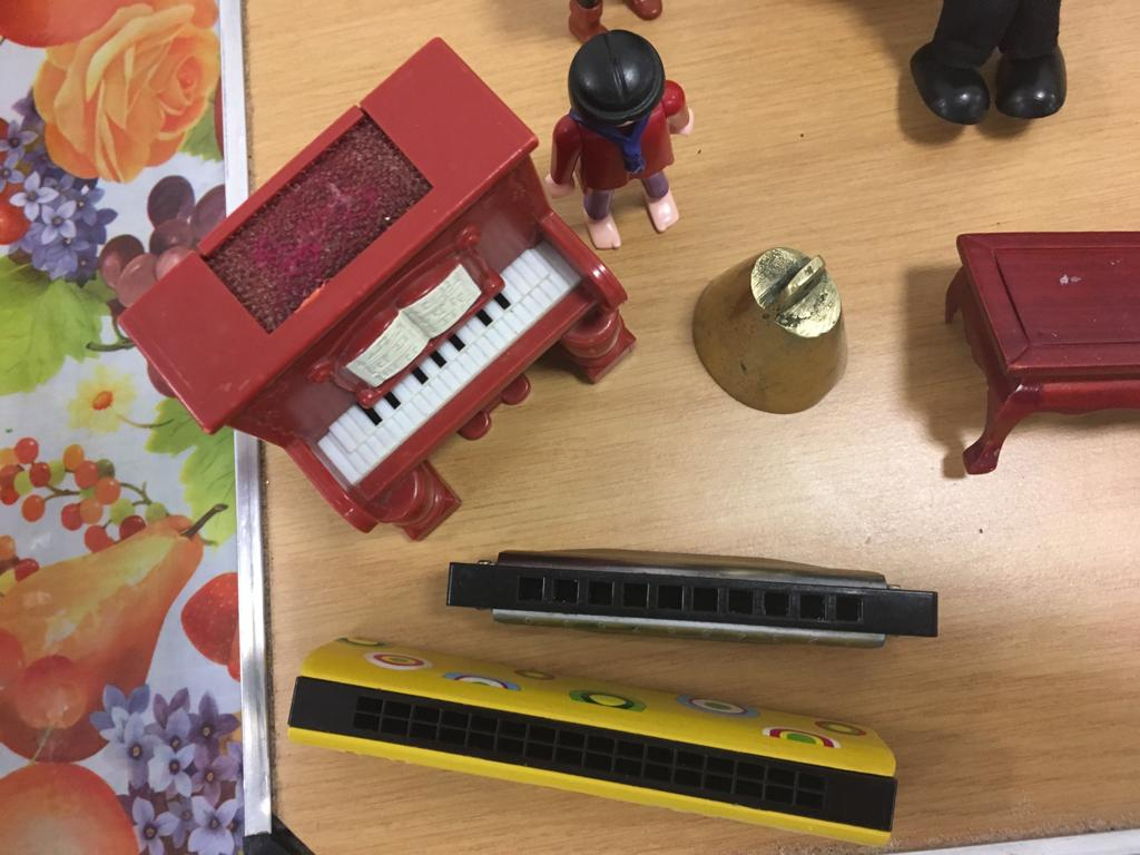 sandplay and dementia counselling harmonica